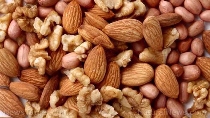 Mixed Nuts in Bulk Almonds Cashews Walnuts
